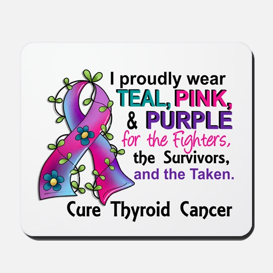 For Fighters Survivors Taken Thyroid Can Mousepad