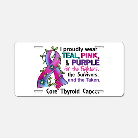For Fighters Survivors Take Aluminum License Plate