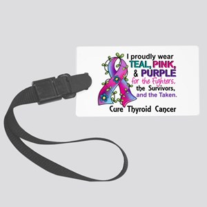 For Fighters Survivors Taken Thy Large Luggage Tag
