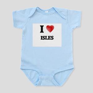 I Love Isles Body Suit