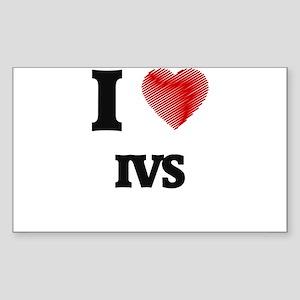 I Love Ivs Sticker