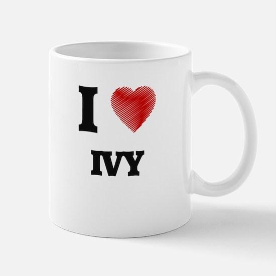 I Love Ivy Mugs
