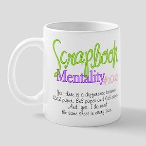 Scrapbook Mentality #1042 Mug