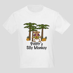 Poppy's Silly Monkey Boy Kids Light T-Shirt