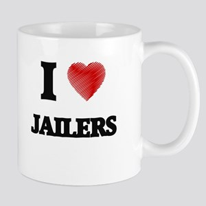 I Love Jailers Mugs