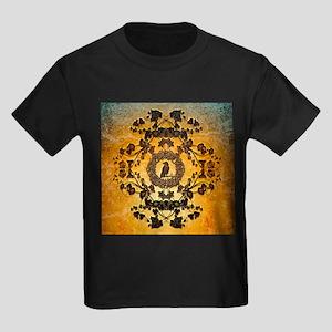 Wonderful floral design in rusty metal T-Shirt