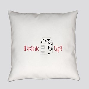 Drink Up Everyday Pillow