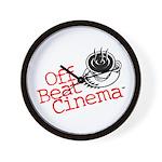Off Beat Cinema Wall Clock