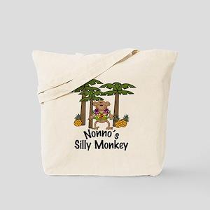 Nonno's Silly Monkey Boy Tote Bag