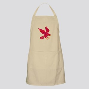 Peregrine Falcon Swooping Low Polygon Apron