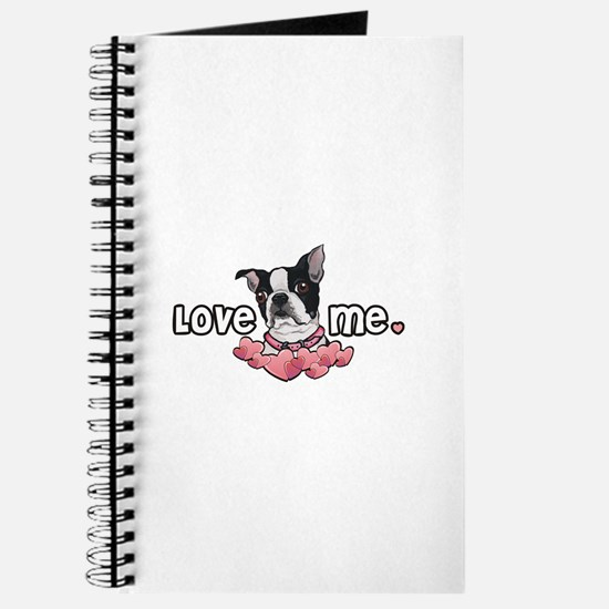 Love Me Boston Terrier Journal