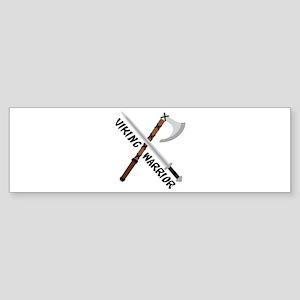 Viking Warrior Bumper Sticker