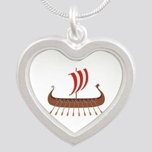 Viking Boat Necklaces