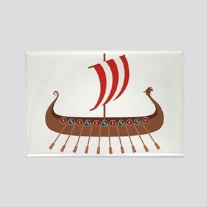 Viking Boat Magnets