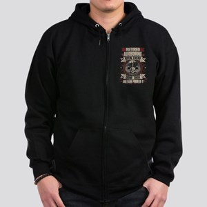 Airborne Zip Hoodie (dark)