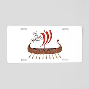 The Vikings Aluminum License Plate