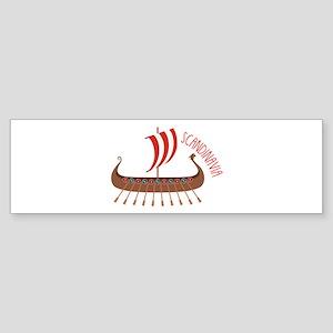 Scandinavia Bumper Sticker