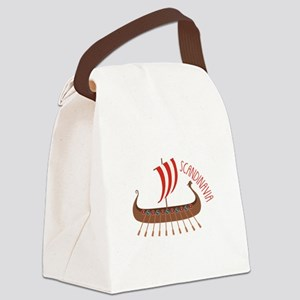 Scandinavia Canvas Lunch Bag