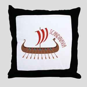 Scandinavia Throw Pillow