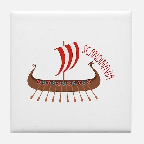 Scandinavia Tile Coaster