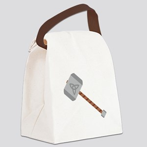 Thors Hammer Canvas Lunch Bag