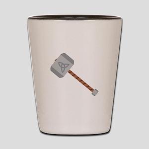 Thors Hammer Shot Glass