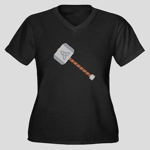 Thors Hammer Plus Size T-Shirt