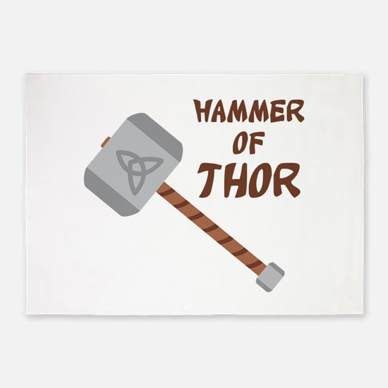 Hammer Of Thor 5'x7'Area Rug
