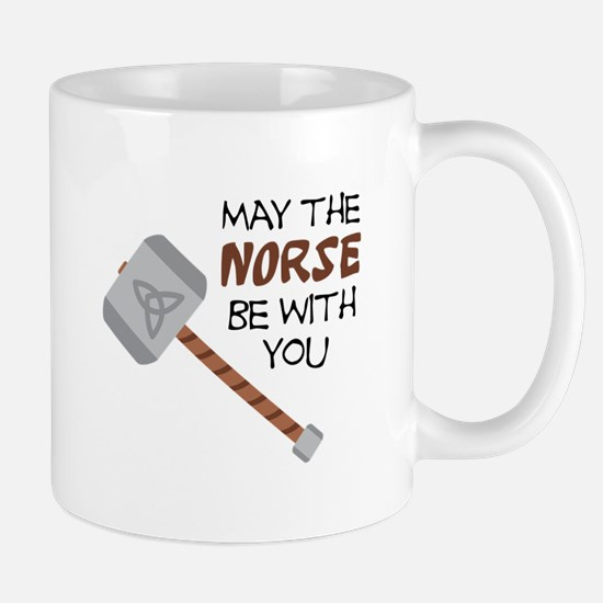 Norse Be With You Mugs
