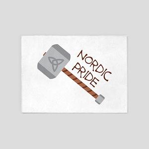 Nordic Pride 5'x7'Area Rug