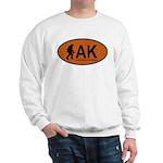 Copper Sasquatch Oval Sweatshirt