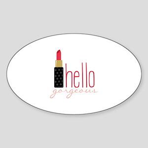 Gorgeous Lipstick Sticker