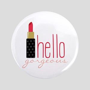 Gorgeous Lipstick Button