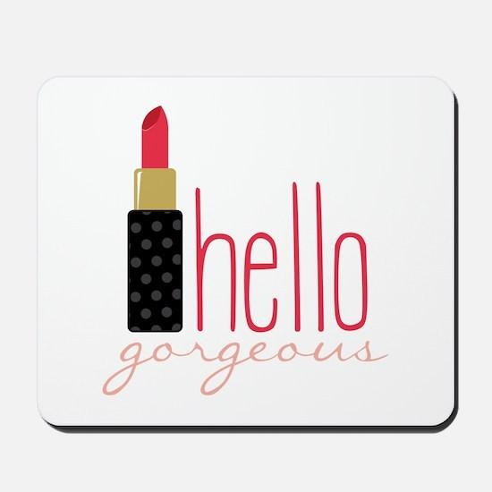 Gorgeous Lipstick Mousepad