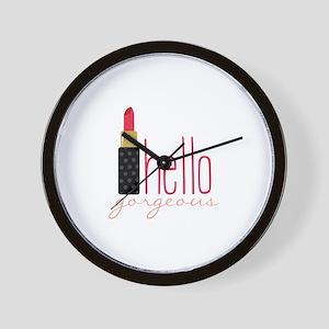 Gorgeous Lipstick Wall Clock