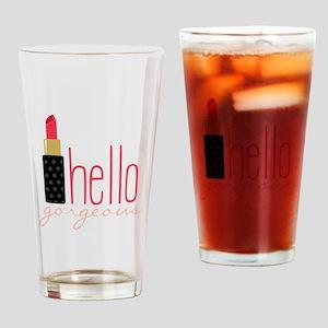 Gorgeous Lipstick Drinking Glass