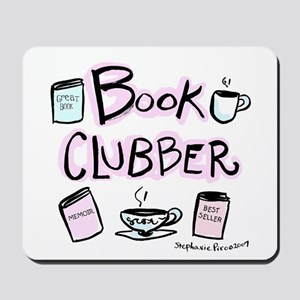 Book Clubber A Mousepad