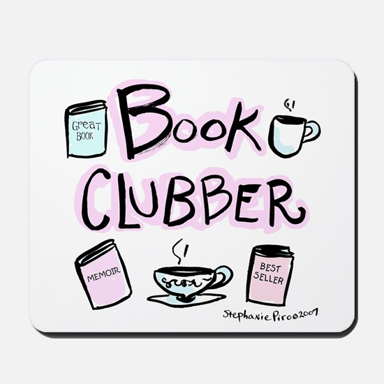 Book Clubber A Mousepad