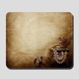 Antique Pearls Mousepad