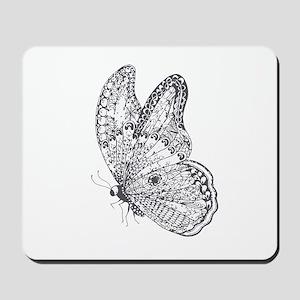 Butterfly Art Mousepad