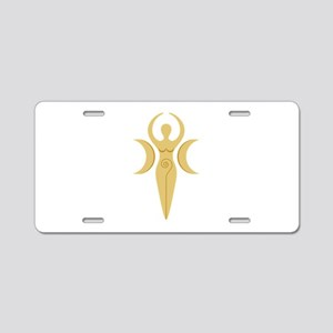Pagan Goddess Aluminum License Plate