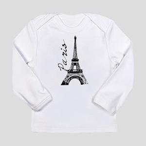 Paris Eifel Long Sleeve T-Shirt
