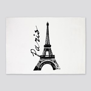 Paris Eifel 5'x7'Area Rug