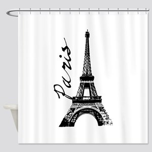 Paris Eifel Shower Curtain