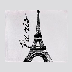 Paris Eifel Throw Blanket