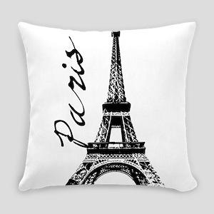 Paris Eifel Everyday Pillow
