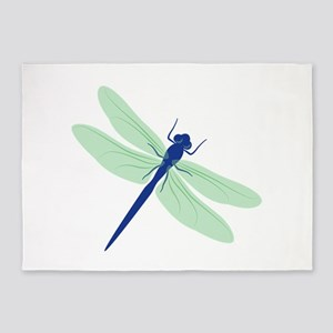 Dragonfly 5'x7'Area Rug