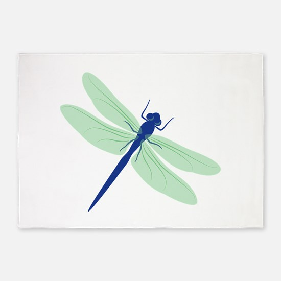 Dragonfly 5 X7 Area Rug