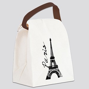 Paris Eifel Canvas Lunch Bag