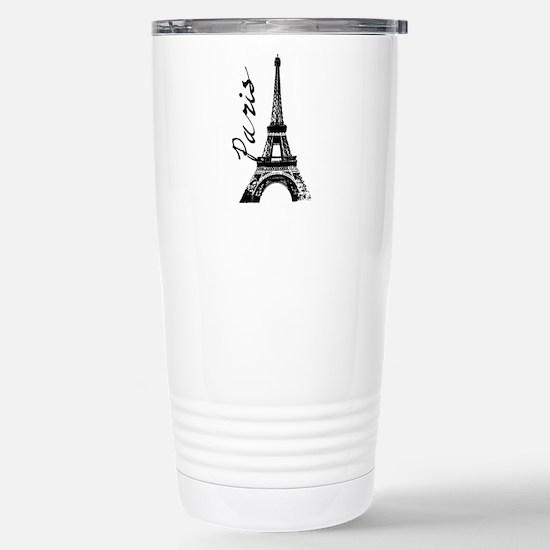 Paris Eifel Stainless Steel Travel Mug
